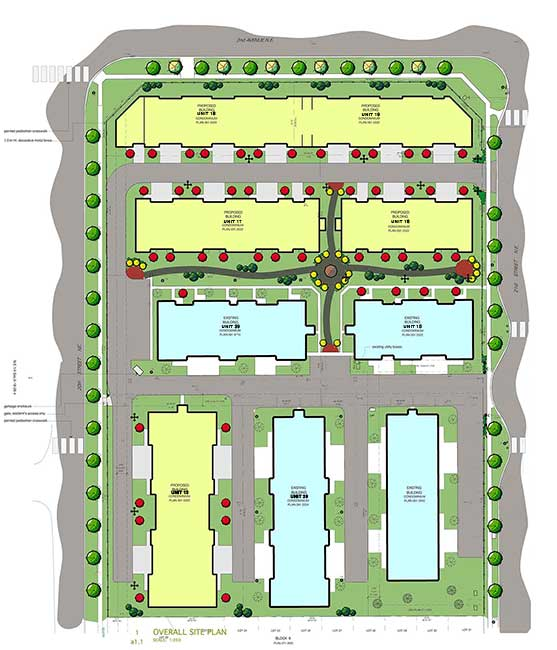 Master Site Plan - Senior Housing High River, AB